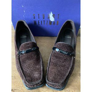 Stuart Weitzman Picamoc Brown Loafers Size 6